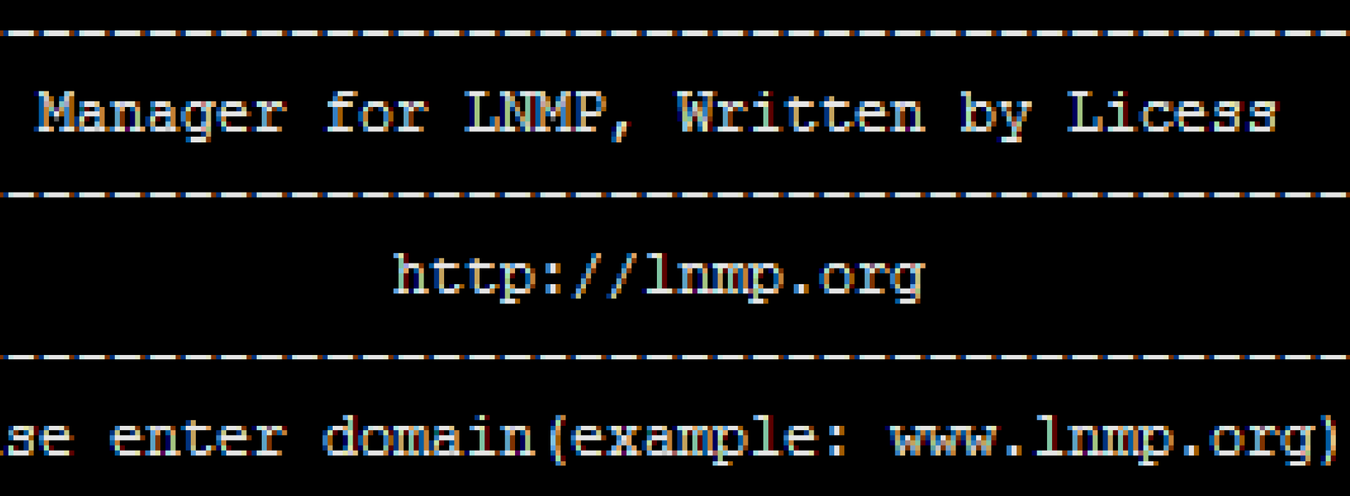 LNMP:添加